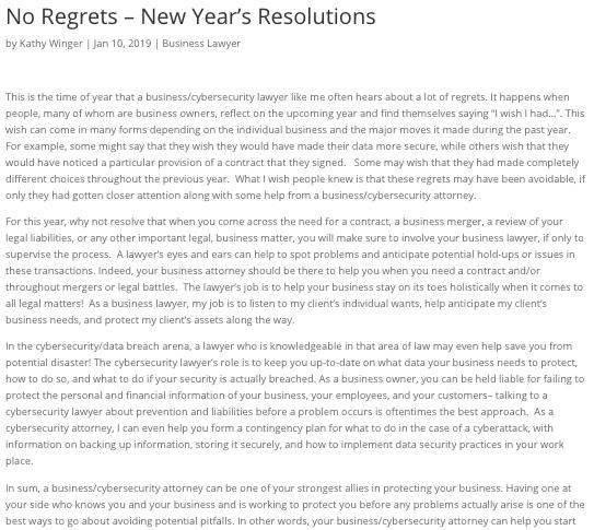 new years financial blog Blog Excerpt