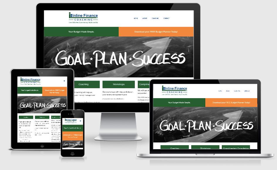 finance coaching Website Refresh