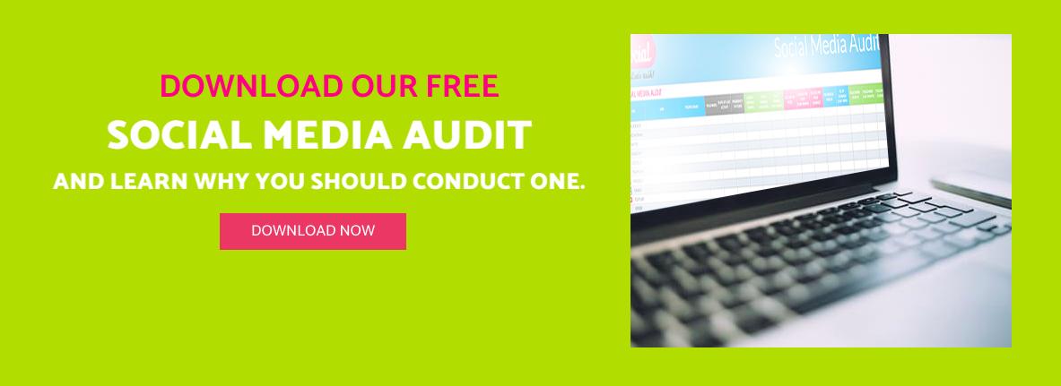 social media audit graphic image