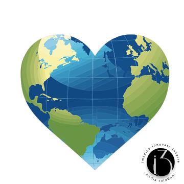 Globe Heart Image