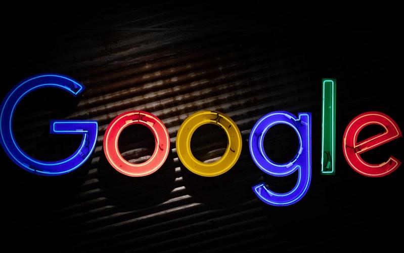 Google Neon Lights Image